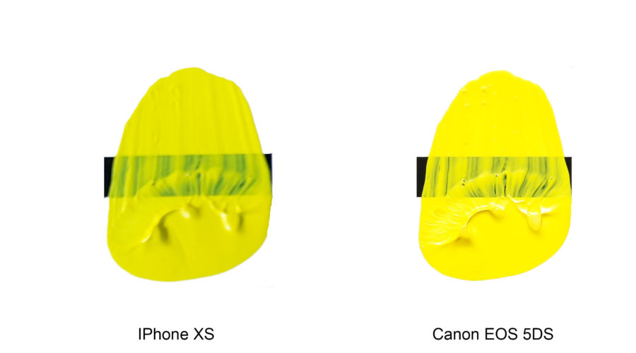 Shooting Your Artwork – IPhone Xs vs Canon EOS 5DS